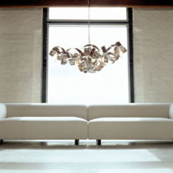 Jacco Maris Montone chandelier stainless steel